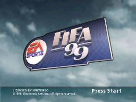 FIFA 99 Title Screen