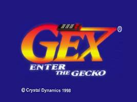 Gex 64 - Enter the Gecko Title Screen