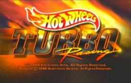 Hot Wheels Turbo Racing Title Screen