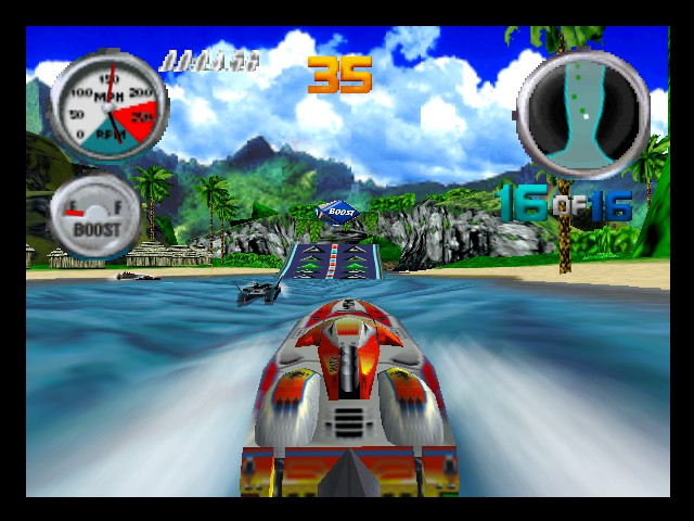 Hydro Thunder (pal version)