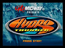 Hydro Thunder Title Screen