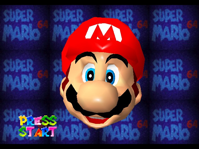 Kaizo Mario 64 Title Screen