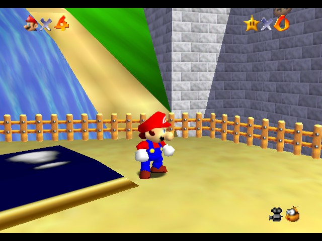 Kaizo Mario 64 Screenshot 2