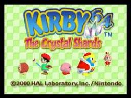 Kirby 64 - The Crystal Shards Title Screen
