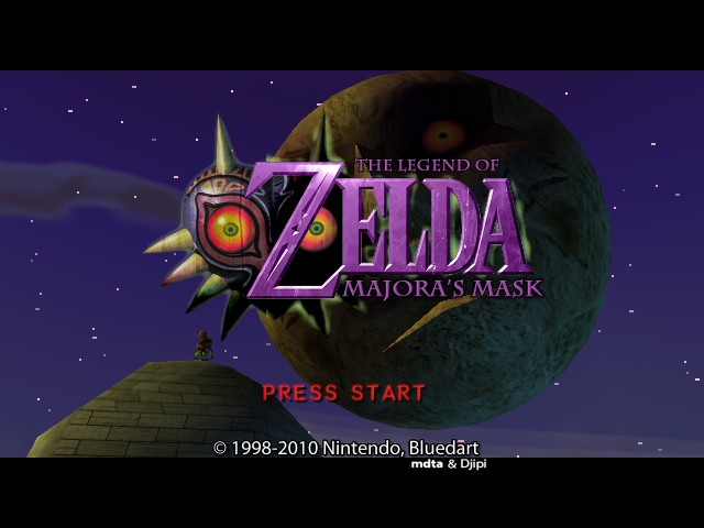 Legend of Zelda, The - Majora's Mask (Hi-Res Graphics)