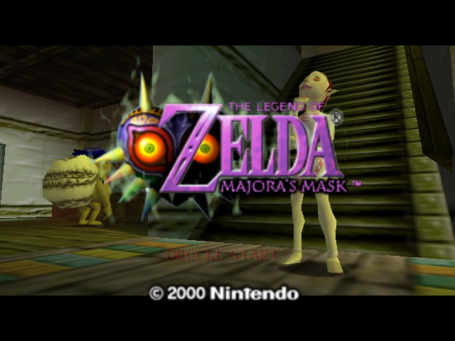 Legend of Zelda, The - Majoras Mask (Debug Edition)