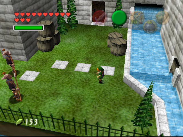 The Legend of Zelda - Ocarina of Time (Debug Edition) Screenshot 3