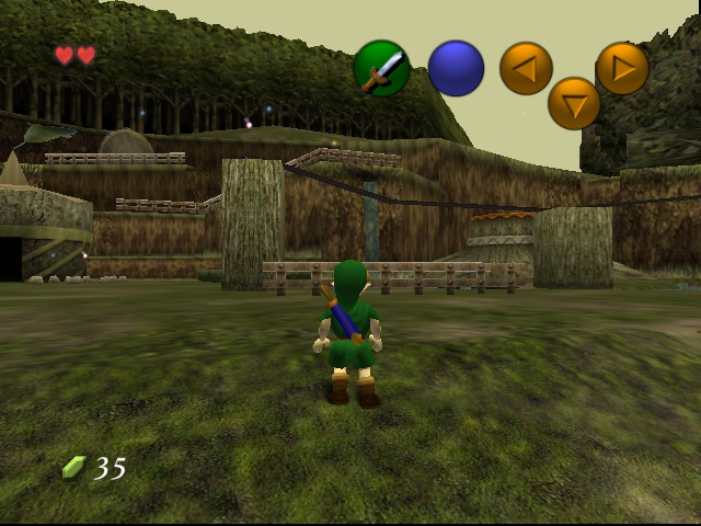 Legend of Zelda, The - Ocarina of Time (Hi-Res Graphics)