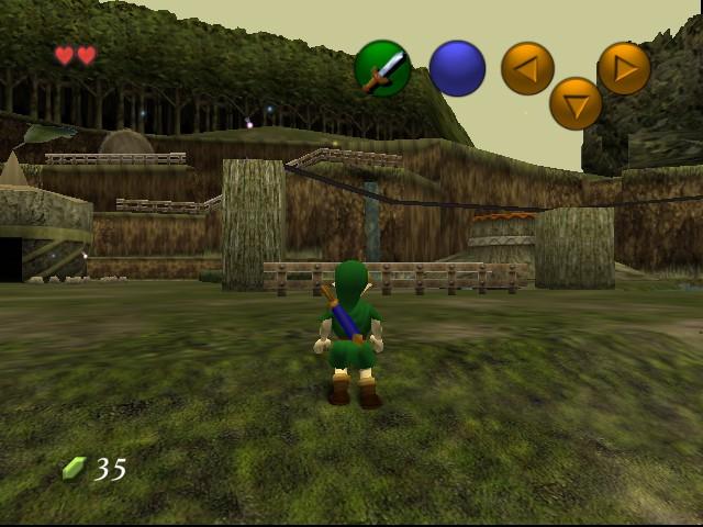 Play The Legend of Zelda - Ocarina of Time (Hi-Res Graphics