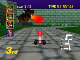 Mario Kart 64 Screenthot 2