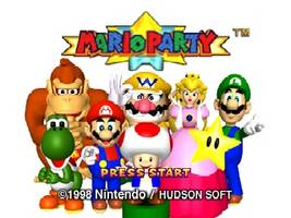 Mario Party Title Screen