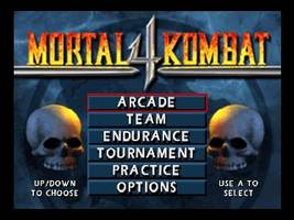 Mortal Kombat 4 Title Screen