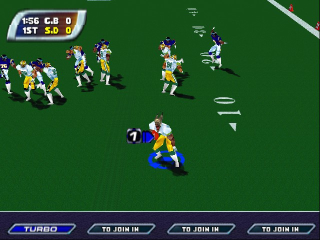 Play NFL Blitz - Special Edition online - Nintendo 64 game rom