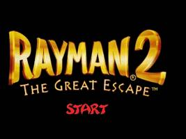 Rayman 2 - The Great Escape Title Screen