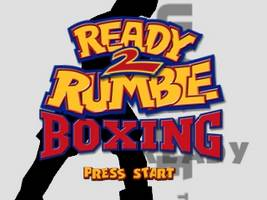 Ready 2 Rumble Boxing Title Screen
