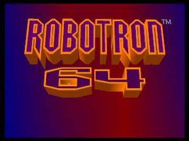 Robotron 64 Title Screen