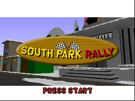 South Park Rally Title Screen