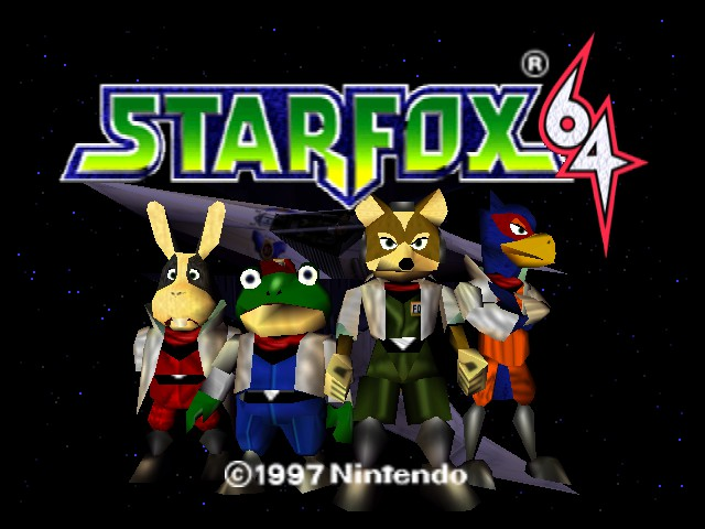 Star Fox 64 - Retextured