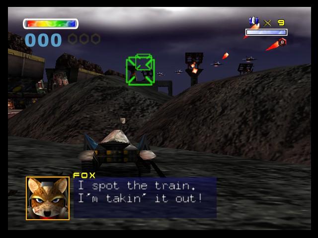 Resultado de imagem para star fox 64 original