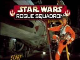 Star Wars - Rogue Squadron Title Screen
