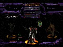StarCraft 64 Title Screen