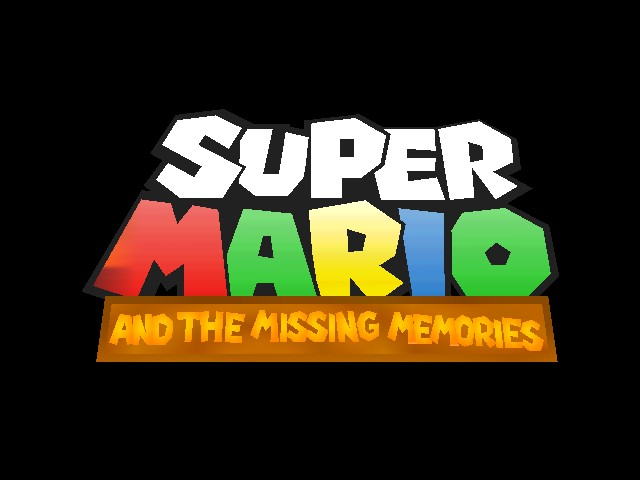 Super Mario - Missing Memories (Demo) Title Screen