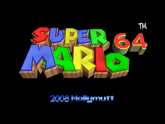 Super Mario 64 - Cartoon Graphics