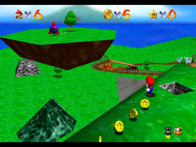 Super Mario 64 - Legend of the 70 Power Stars
