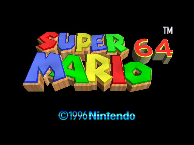 Super Mario 64 - Multiplayer Title Screen