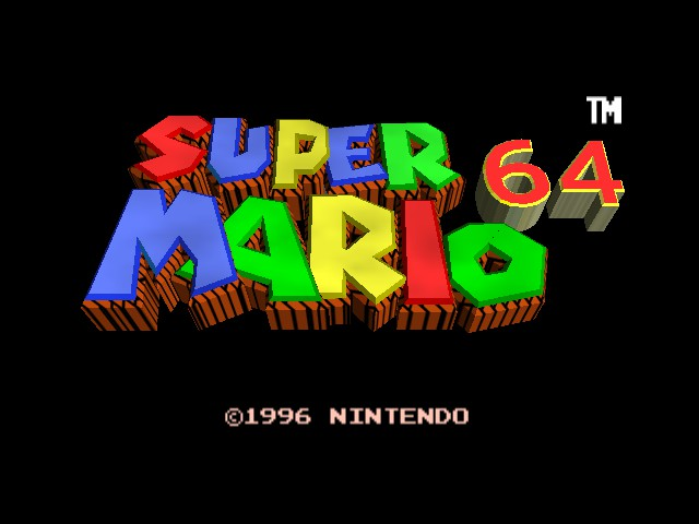 Super Mario 64 - Retro Graphics