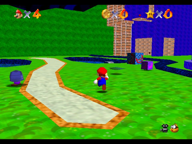 Super Mario 74 & The Moon World
