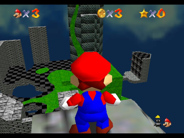 Super Mario 74 - Extreme Edition Screenthot 2