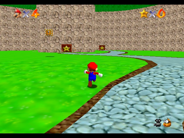 Super Mario 74 Screenshot 2