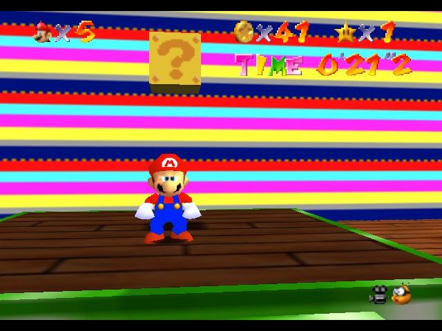 Super Mario Galaxy 64 (beta) hack (N64) Game - Nintendo 64