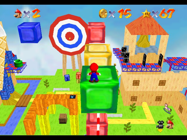 Super Mario Star Road Screenshot 1