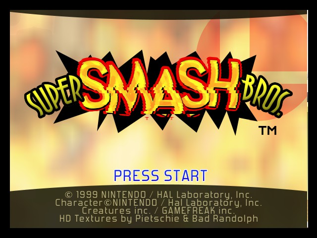 Super Smash Bros. HD