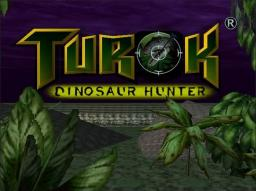 Turok - Dinosaur Hunter Title Screen