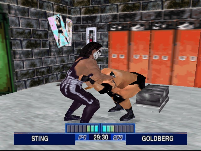 WCW Mayhem Screenshot 1