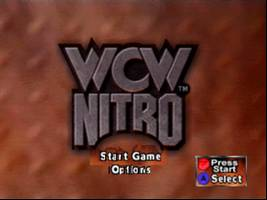 WCW Nitro Title Screen