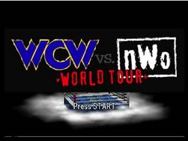 WCW vs. nWo - World Tour Title Screen