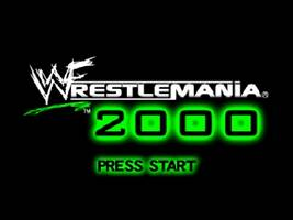 WWF WrestleMania 2000 Title Screen