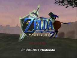 Zelda - Ocarina of Time - Master Quest