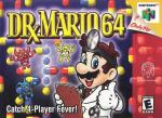 Dr. Mario 64 Box Art Front