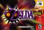 Legend of Zelda, The - Majora's Mask Box Art Front