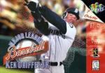 Major League Baseball Featuring Ken Griffey Jr. Boxart