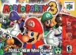 Mario Party 3 Box Art Front