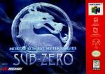 Mortal Kombat Mythologies - Sub-Zero Box Art Front