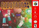 Robotron 64 Box Art Front