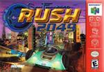 San Francisco Rush 2049 Box Art Front