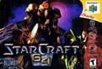StarCraft 64 Box Art Front